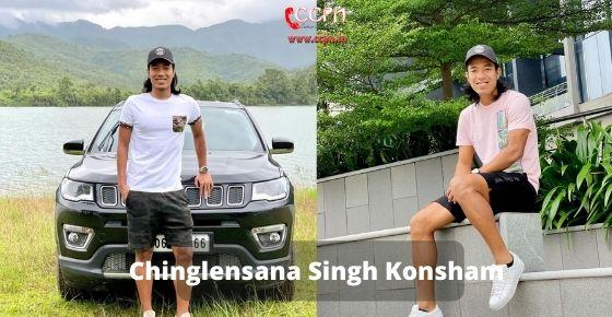 How to contact Chinglensana Singh Konsham