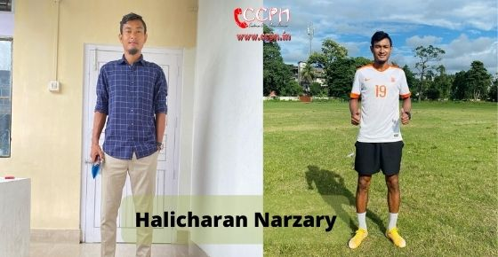 How to contact Halicharan Narzary