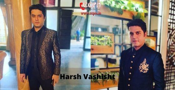 How to contact Harsh Vashisht
