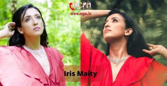 How to contact Iris Maity