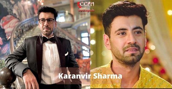 How to contact Karanvir Sharma