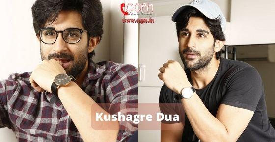 How to contact Kushagre Dua