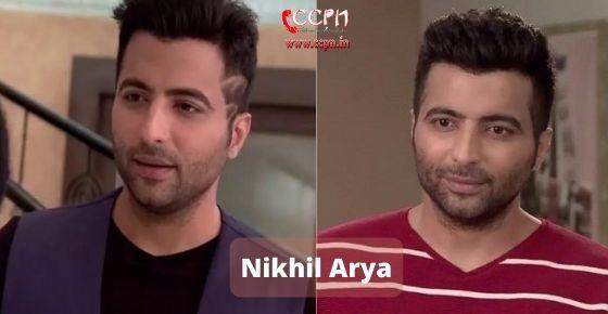 How to contact Nikhil Arya