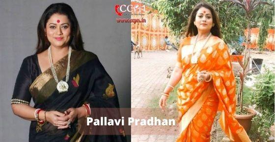 How to contact Pallavi Pradhan