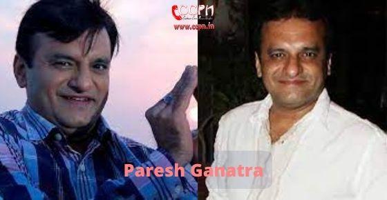 How to contact Paresh Ganatra