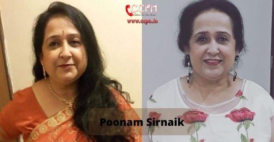 How to contact Poonam Sirnaik