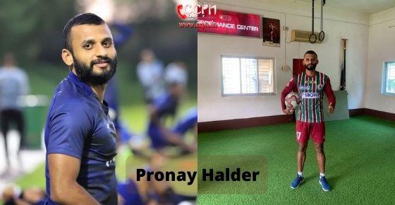How to contact Pronay Halder