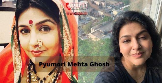 How to contact Pyumori Mehta Ghosh