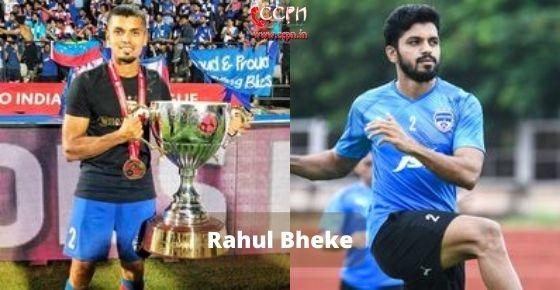 How to contact Rahul Bheke