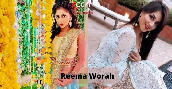 How to contact Reema Worah