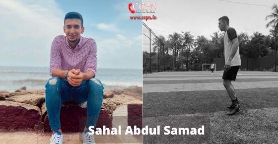 How to contact Sahal Abdul Samad