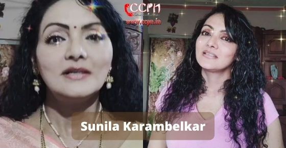 How to contact Sunila Karambelkar