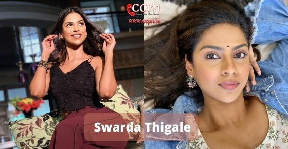 How to contact Swarda Thigale
