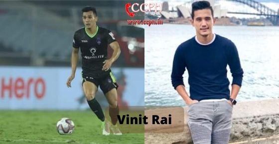 How to contact Vinit Rai
