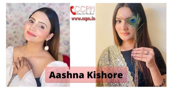 How to contact Aashna-Kishore