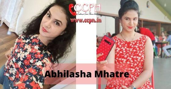 How to contact Abhilasha-Mhatre