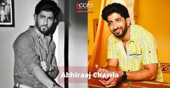 How to contact Abhiraaj Chawla