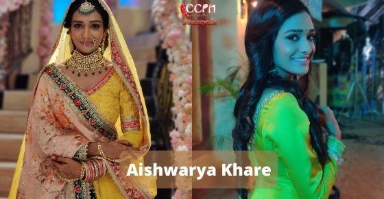 How to contact Aishwarya Khare