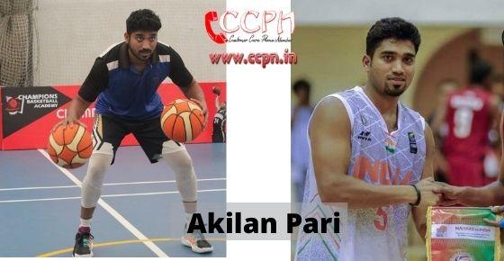 How to contact Akilan-Pari