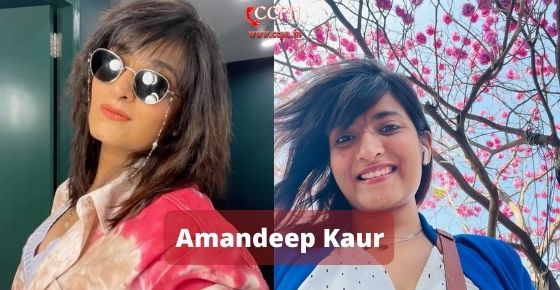How to contact Amandeep Kaur