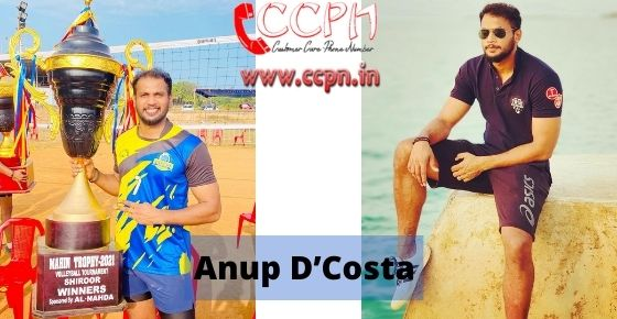 How to contact Anup-DCosta