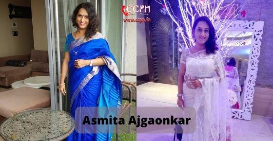 How to contact Asmita Ajgaonkar
