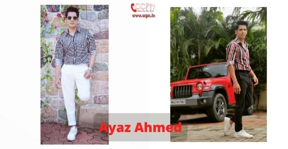 How to contact Ayaz Ahmed