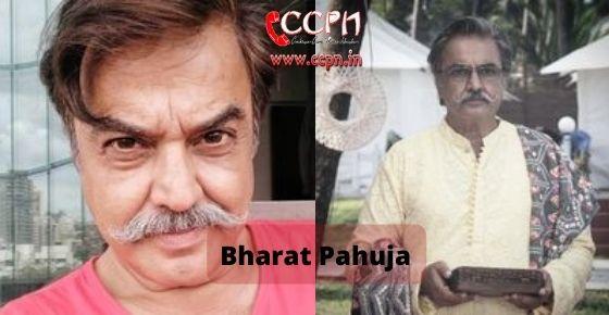 How to contact Bharat Pahuja