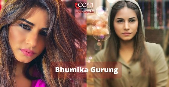 How to contact Bhumika Gurung