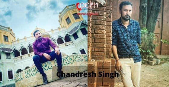 How to contact Chandresh Singh