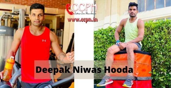 How to contact Deepak-Niwas-Hooda