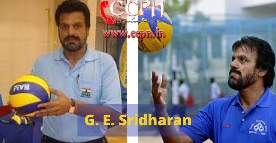 How to contact G.-E.-Sridharan