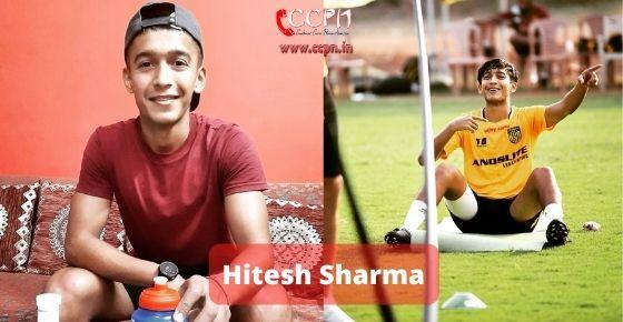 How to contact Hitesh Sharma