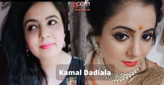 How to contact Kamal Dadiala