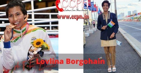 How to contact Lovlina-Borgohain