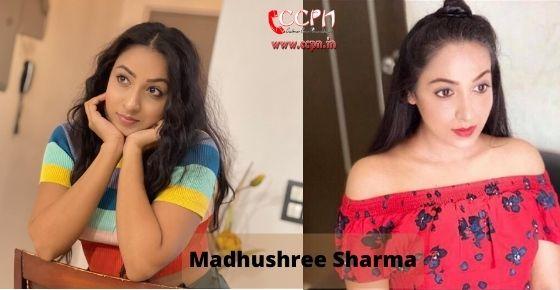 How to contact Madhushree Sharma
