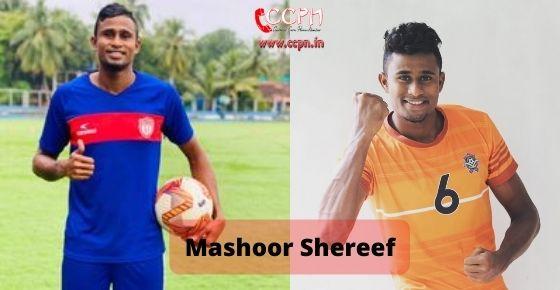 How to contact Mashoor Shereef