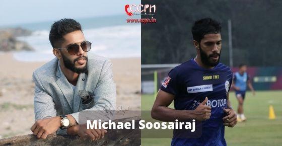 How to contact Michael Soosairaj