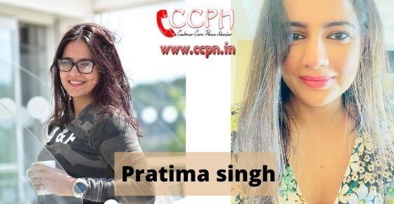 How to contact Pratima-singh