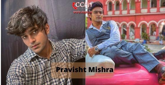 How to contact Pravisht Mishra