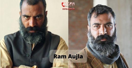 How to contact Ram Aujla