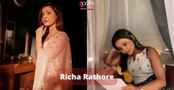 How to contact Richa Rathore