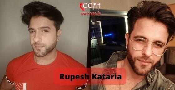 How to contact Rupesh Kataria