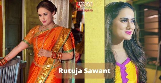 How to contact Rutuja Sawant