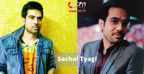 How to contact Sachal Tyagi