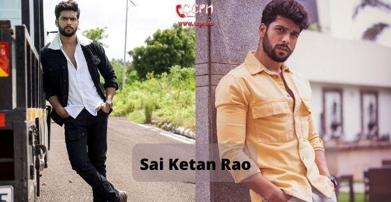 How to contact Sai Ketan Rao