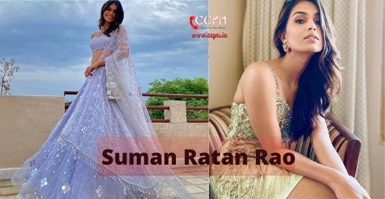 How to contact Suman-Ratan-Rao