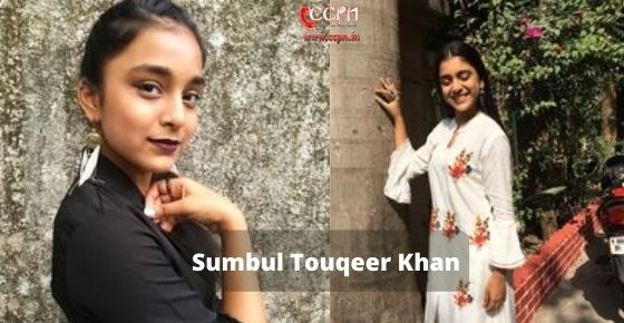 How to contact Sumbul Touqeer