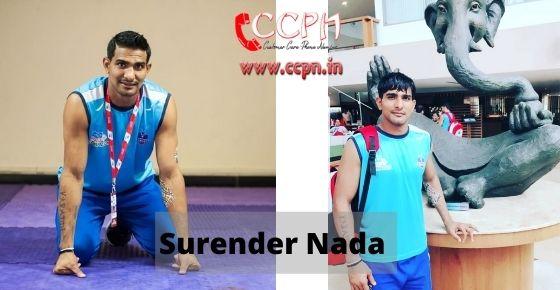 How to contact Surender-Nada