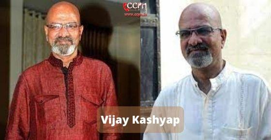 How to contact Vijay Kashyap